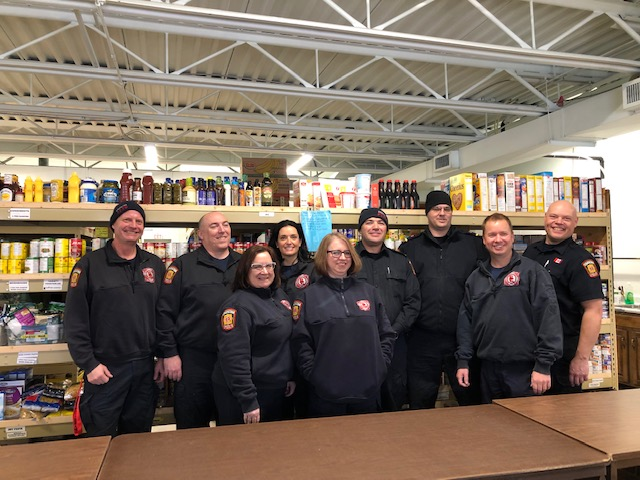 Strathcona Fire Prevention & Investigation team