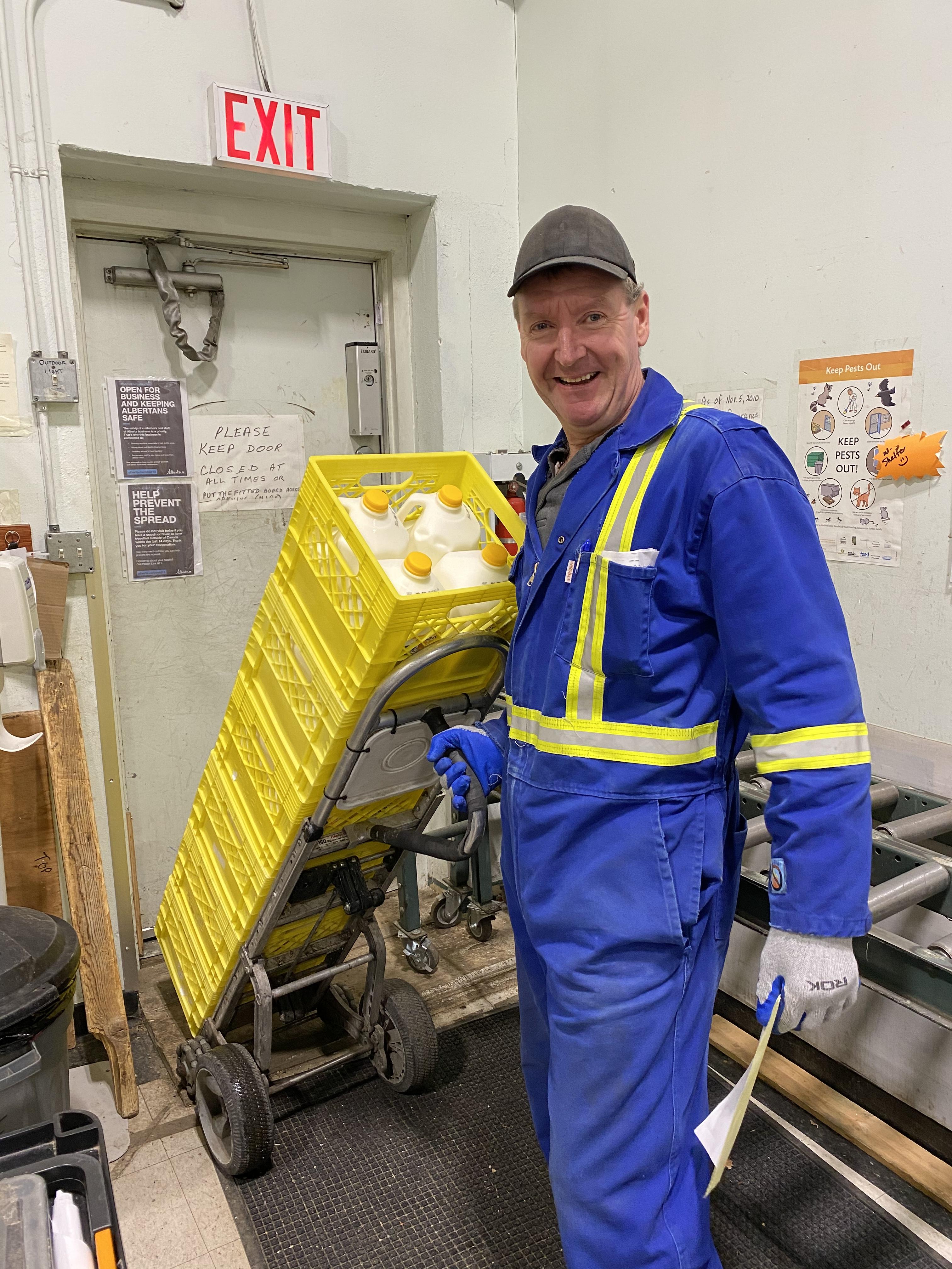 Alberta Milk donation